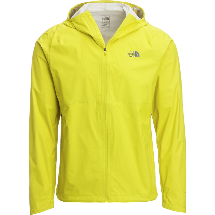The North Face - Stormy Trail Hooded Jacket - Men's - Acid Yellow
