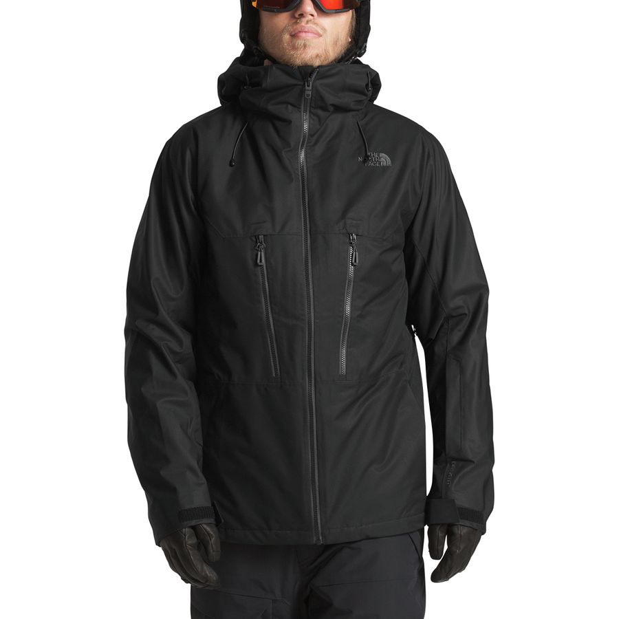 ca9642d9b5 The North Face - Thermoball Snow Triclimate Hooded Jacket - Men s - Tnf  Black Tnf