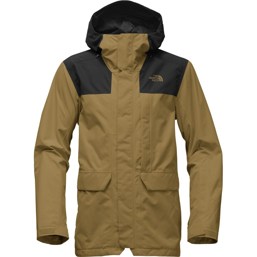 4ad059b76183 The North Face - Alligare Thermoball Triclimate Hooded Jacket - Men s -  British Khaki Tnf