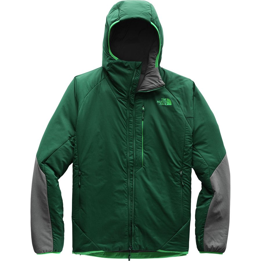 The North Face - Ventrix Hooded Insulated Jacket - Men s - Botanical Garden  Green Vanadis fb963046a