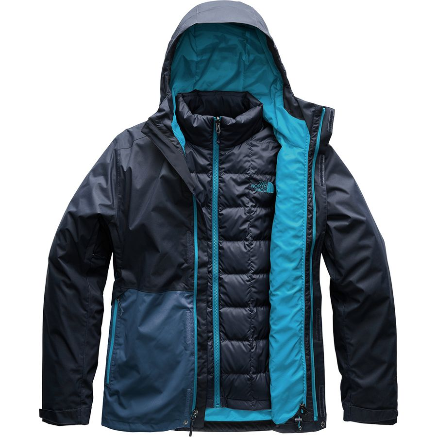 The North Face - Altier Down Triclimate Hooded Jacket - Men's - Urban  Navy/Shady