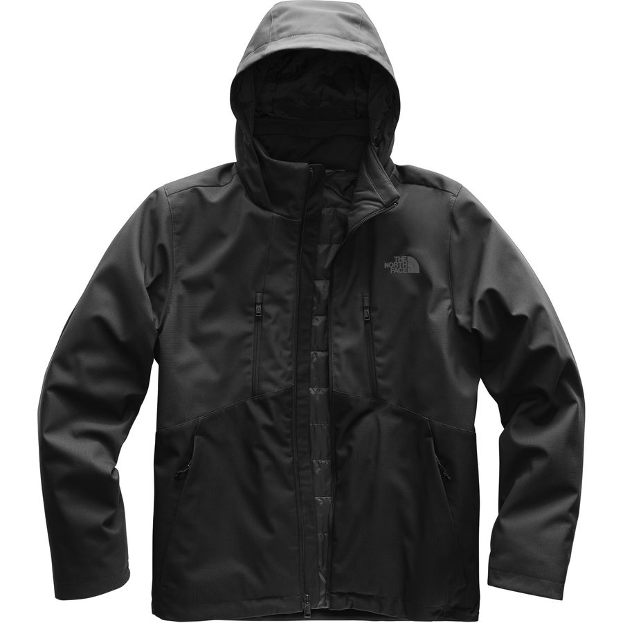 98425523554e The North Face - Apex Elevation Hooded Softshell Jacket - Men s - Asphalt  Grey Tnf