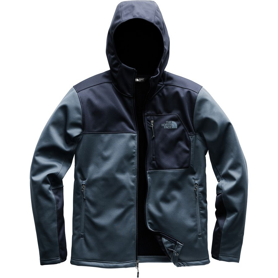 The North Face - Apex Risor Hooded Softshell Jacket - Men s - Shady Blue  Urban c729dc213448