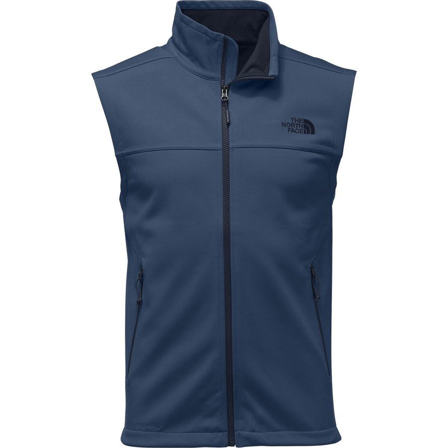 1785a5aa9c94 ... authentic the north face apex canyonwall fleece vest mens shady blue  shady blue f6246 6c3b3