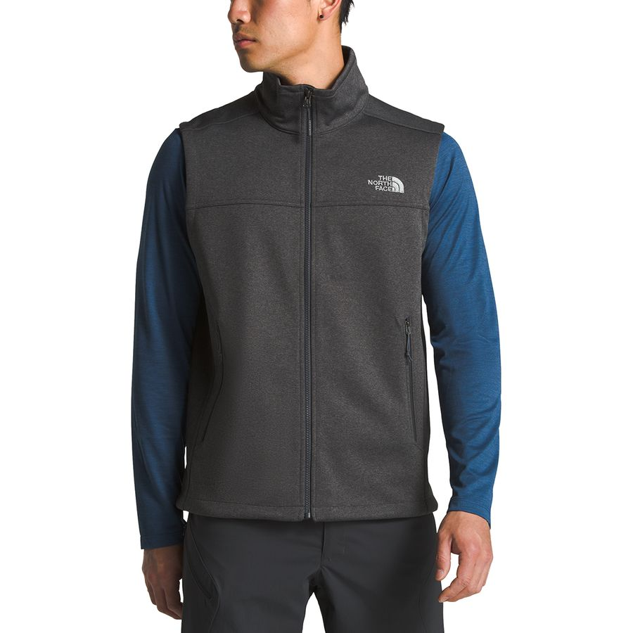 the north face apex canyonwall fleece vest men s