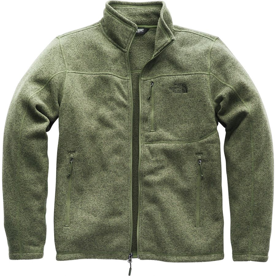 46f2068bb7bc8 The North Face - Gordon Lyons Fleece Jacket - Men s - Four Leaf Clover  Heather