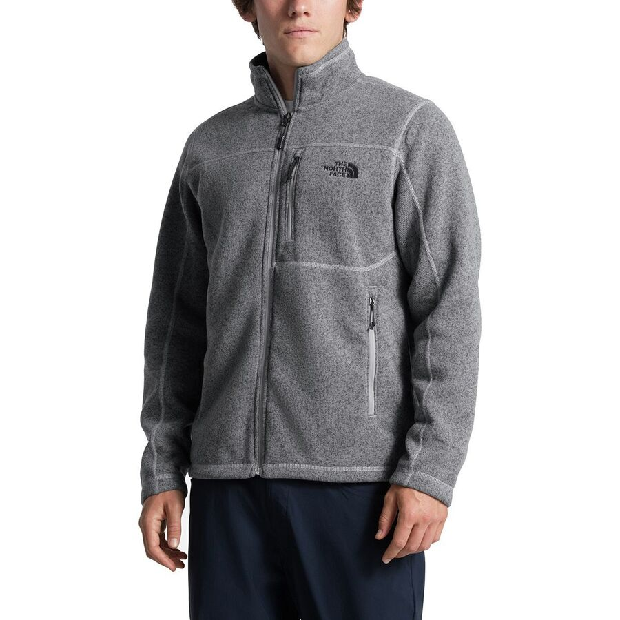 906f0a3221a6 The North Face - Gordon Lyons Fleece Jacket - Men s - Tnf Medium Grey  Heather