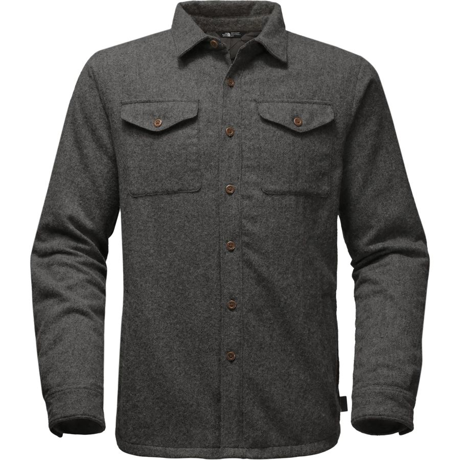 The North Face Cabin Fever Wool Shirt Jacket - Mens