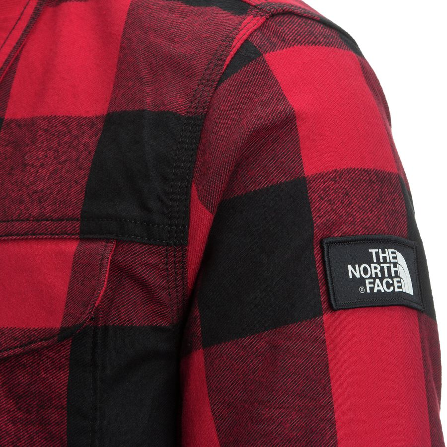 25ed099f0 The North Face Campground Sherpa Shirt Jacket - Men's