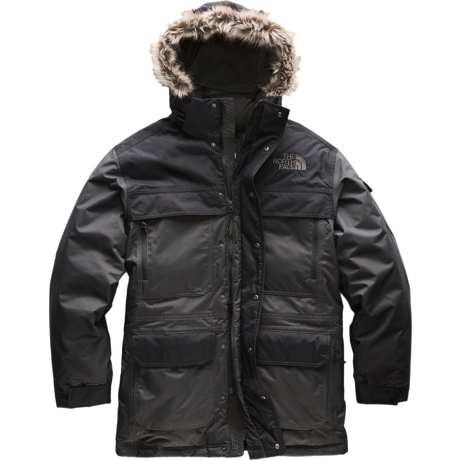 bc27ae0d4 The North Face - McMurdo Hooded Down Parka III - Men's - Asphalt Grey/Tnf