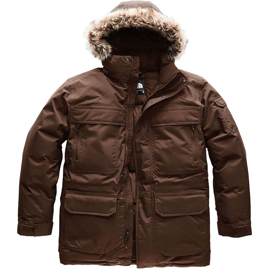 9c4d01d85e1f7 The North Face - McMurdo Hooded Down Parka III - Men's - Brownie Brown