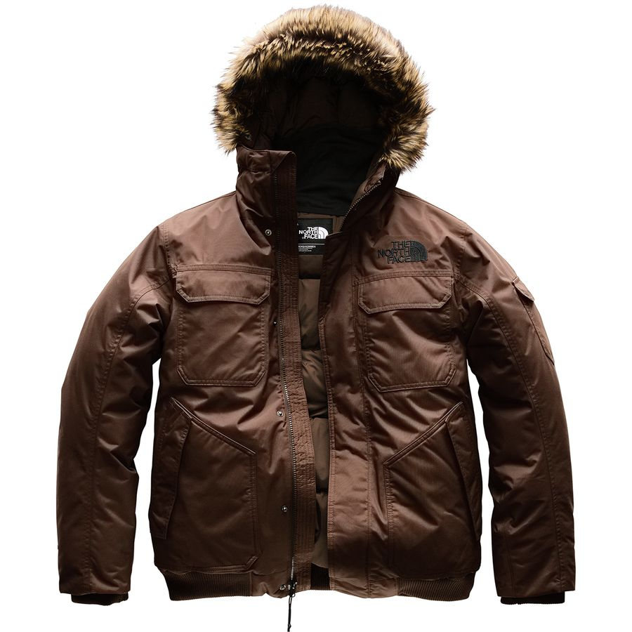 2c41fa571da3a The North Face - Gotham Hooded Down Jacket III - Men's - Brownie Brown