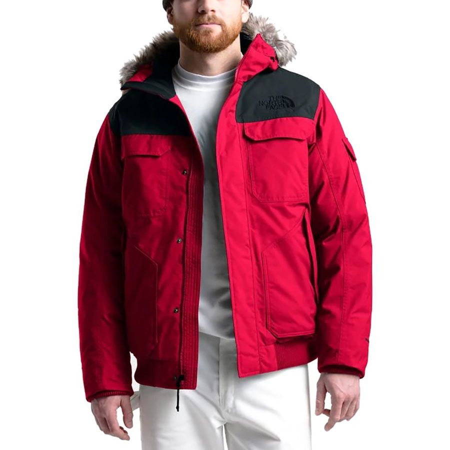 b2b060a6684 The North Face - Gotham Hooded Down Jacket III - Men s - Tnf Red Tnf