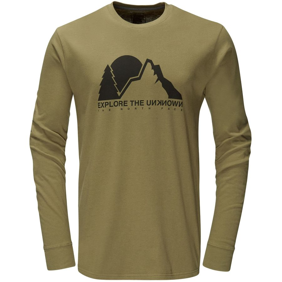 The North Face Unknown Explorer T-Shirt - Long-Sleeve - Mens
