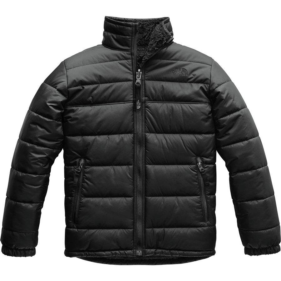 b6b52374ffa3 The North Face - Reversible Mount Chimborazo Fleece Jacket - Boys  - Tnf  Black