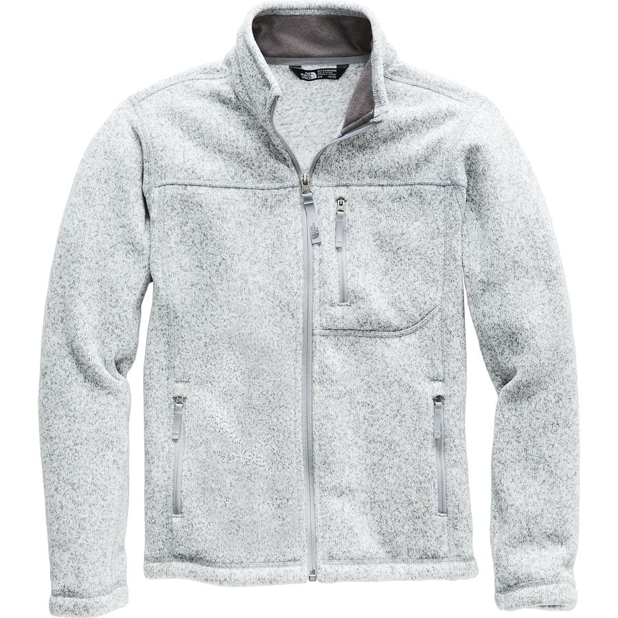 f018baffe578 The North Face - Gordon Lyons Fleece Jacket - Boys  - Tnf Light Grey Heather