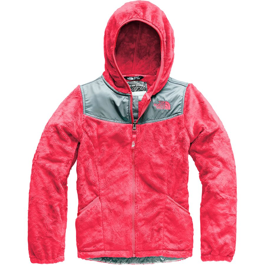 9ac5563088 The North Face - Oso Hooded Fleece Jacket - Girls  - Atomic Pink