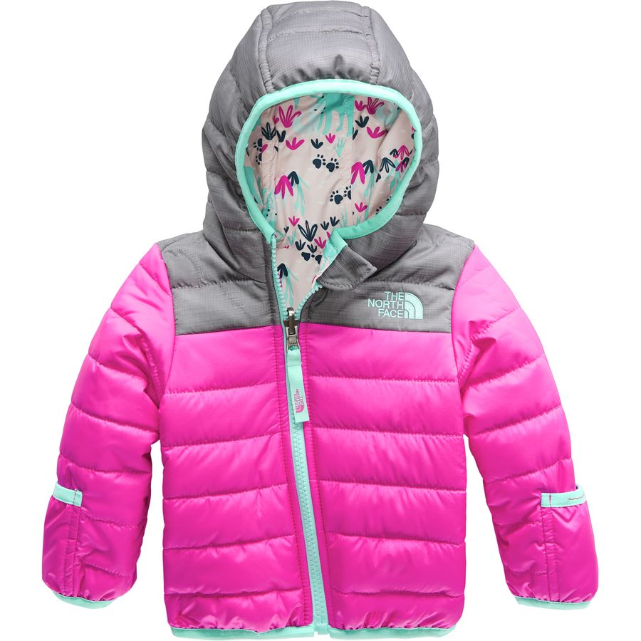 5eed2e9ee8c3 The North Face - Perrito Reversible Hooded Jacket - Infant Girls  - Azalea  Pink