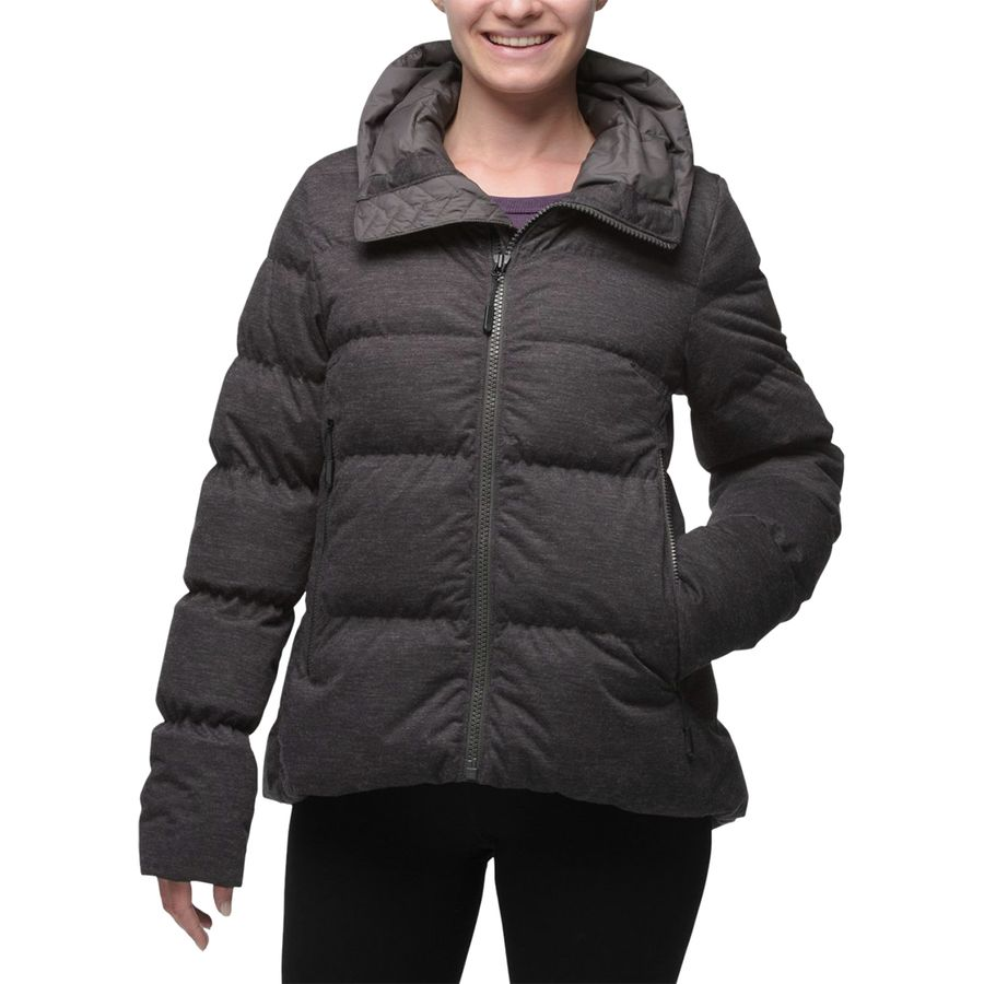 The North Face - Cryos Wool Down Jacket - Women s - Tnf Dark Grey Heather 894782fc1