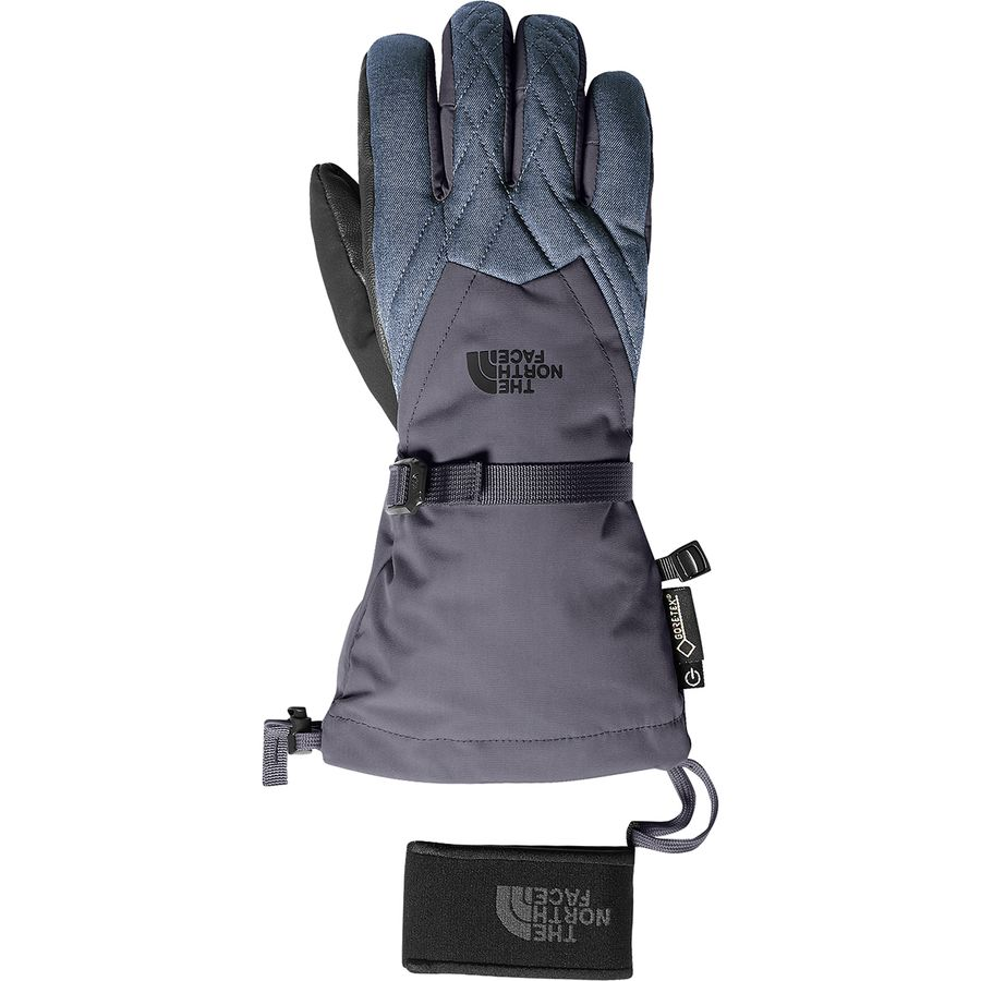 f974a6749f The North Face - Montana Gore-Tex Glove - Women's - Periscope Grey/Grisaille