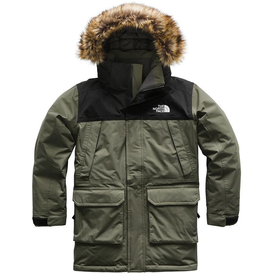 The North Face - McMurdo Down Parka - Boys  - New Taupe Green 172043be96d2