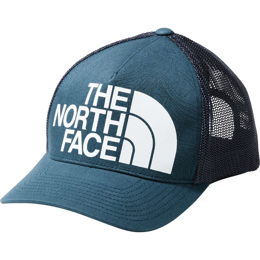 d0cd1b8ad2f49e The North Face - Keep It Structured Trucker Hat - Blue Wing Teal/Tnf White