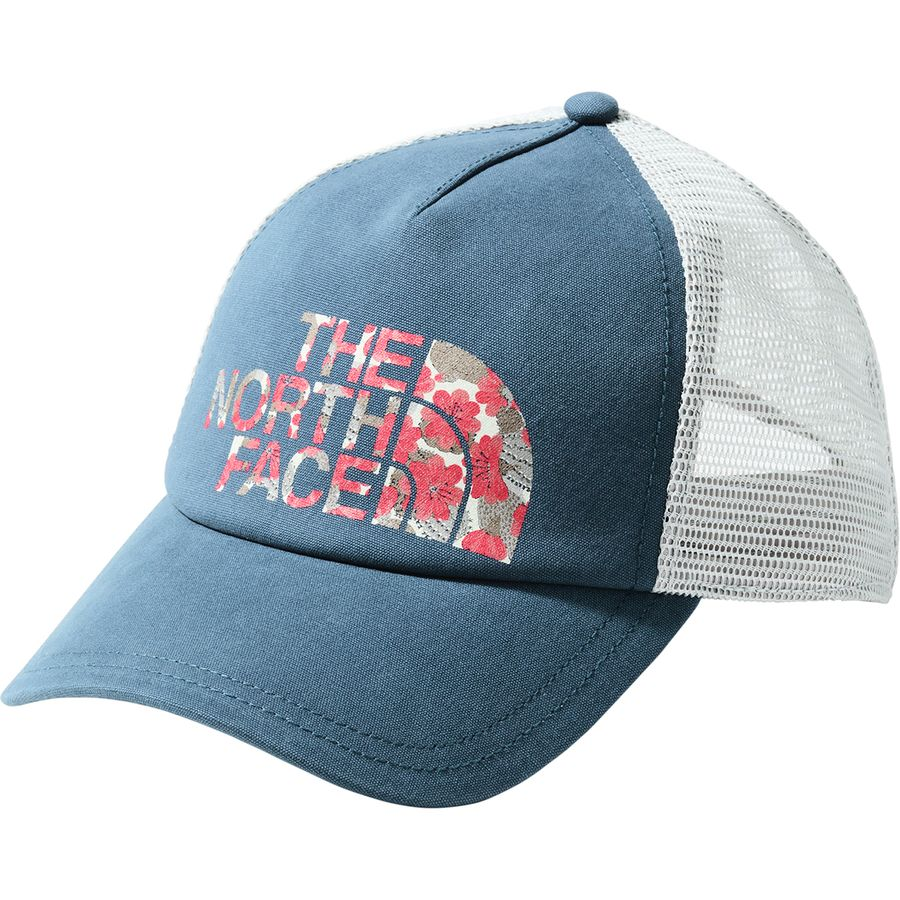 24449eef450 The North Face - Low Pro Trucker Hat - Women s - Blue Wing Teal Spiced
