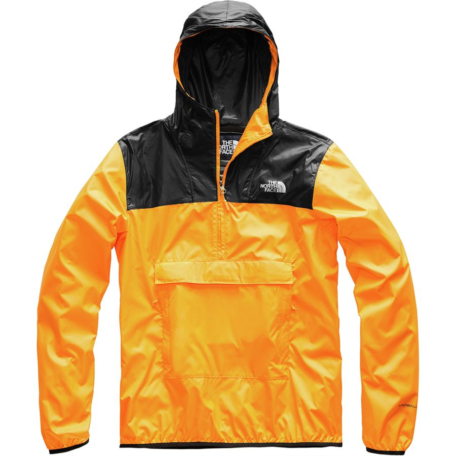 newest collection c5bee 2481f The North Face - Fanorak Windbreaker - Men s - Zinnia Orange Tnf Black