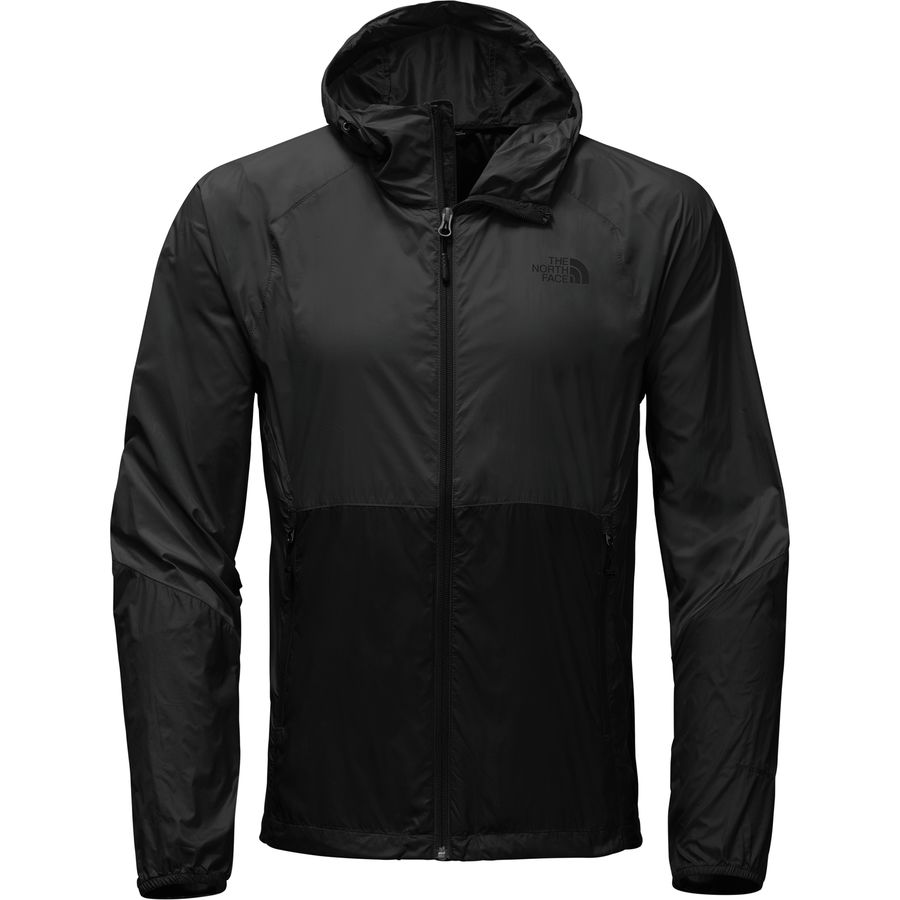 The North Face Flyweight Wind Jacket - Men's Casual - Tnf Black/Tnf Black CUX2KX7