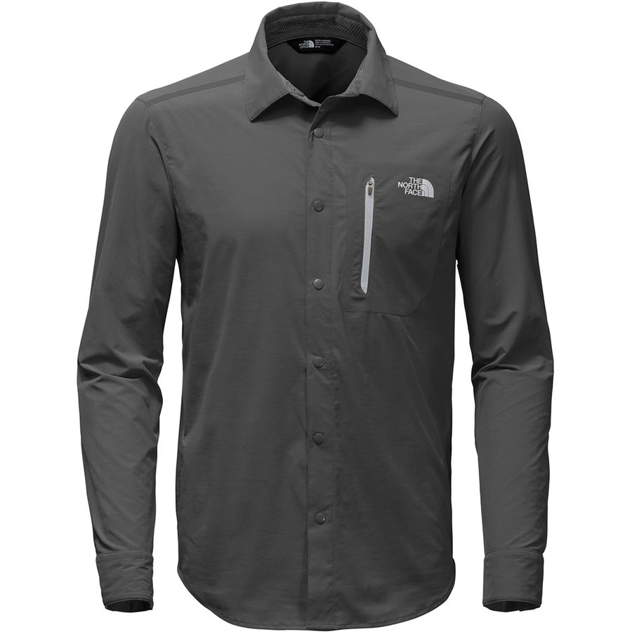 The north face alpenbro long sleeve woven shirt mens the north face alpenbro long sleeve woven shirt mens asphalt grey sciox Images