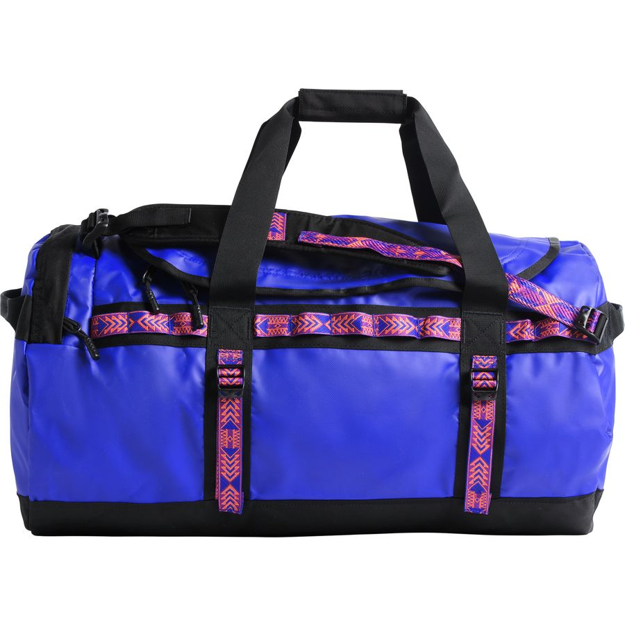 396d476c9c8 The North Face - Base Camp 95L Duffel - Aztec Blue Tnf Black