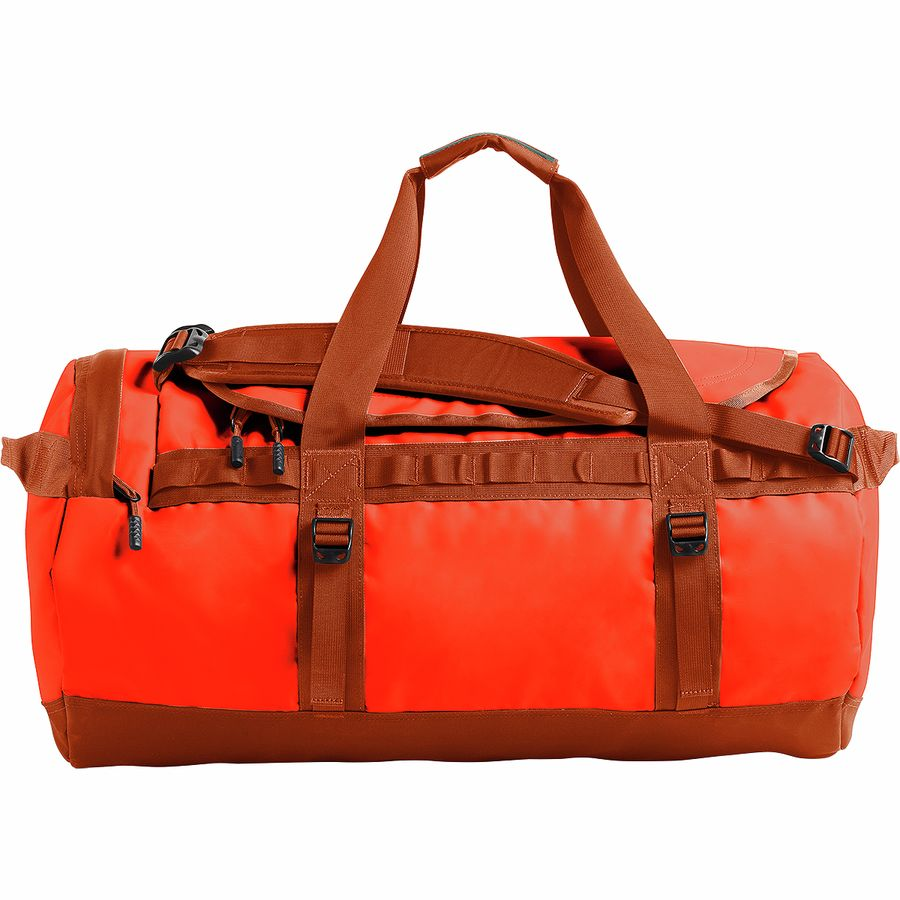 8c7d74aee2 The North Face - Base Camp 71L Duffel - Acrylic Orange/Picante Red