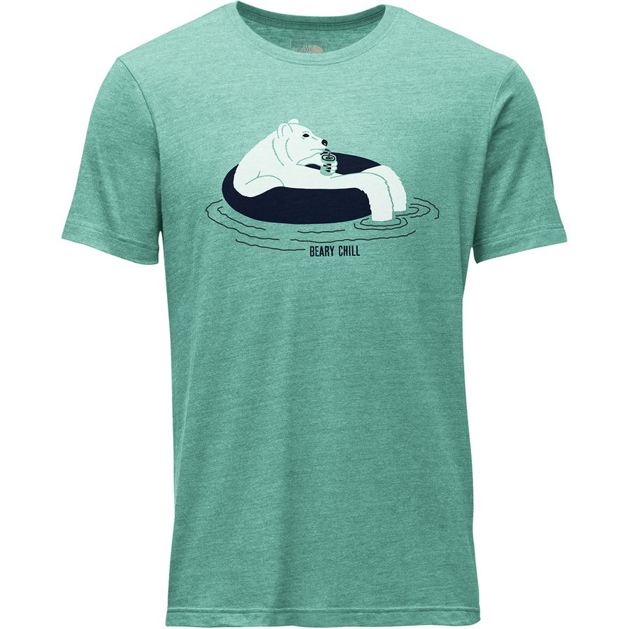 The North Face - Bearing It Tri-Blend T-Shirt - Men's - Bristol