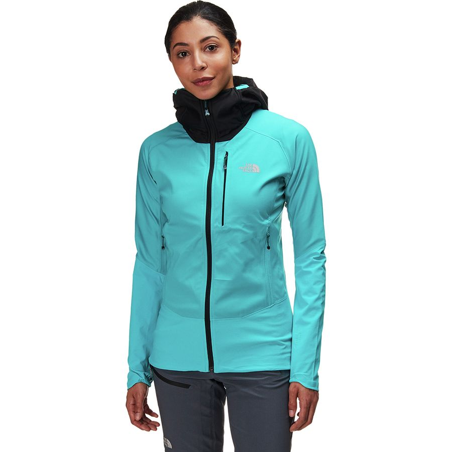 The North Face Summit L4 Windstopper Softshell Hoodie Jacket - Womens