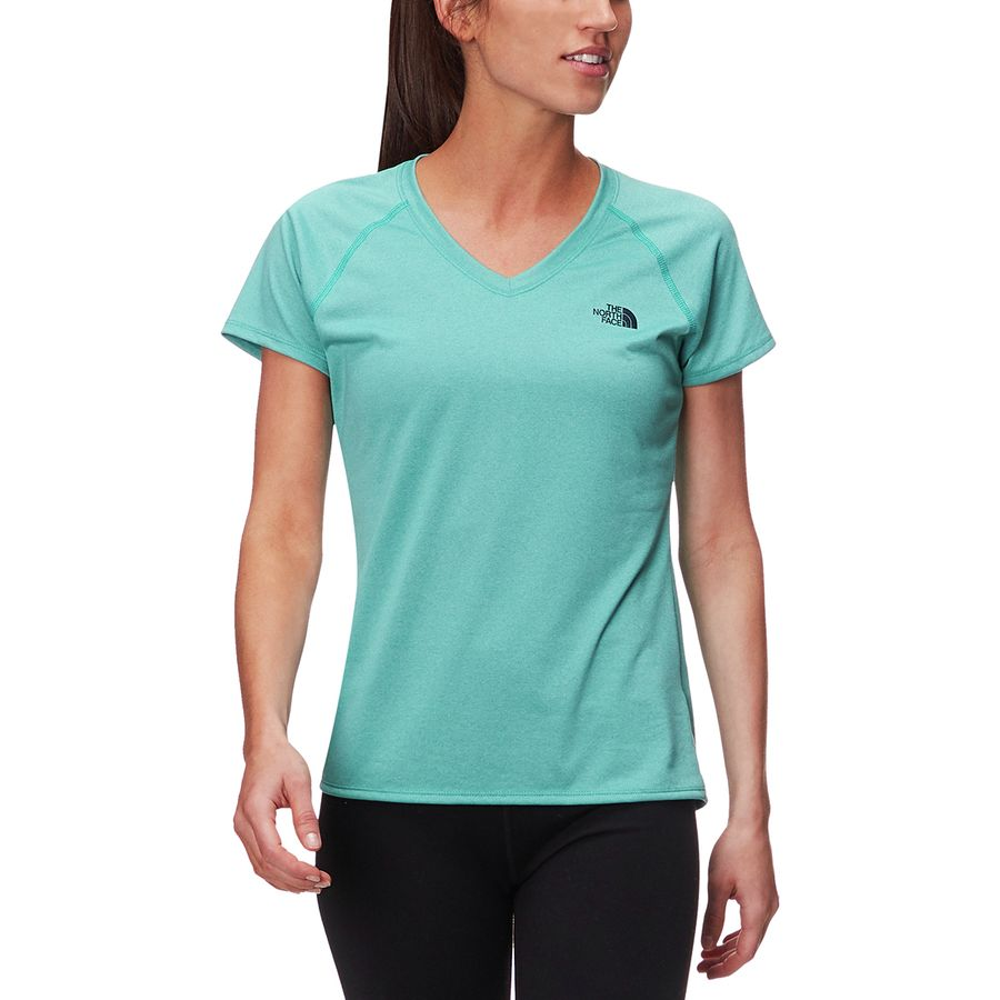 The North Face Reaxion Amp V-Neck T-Shirt - Womens