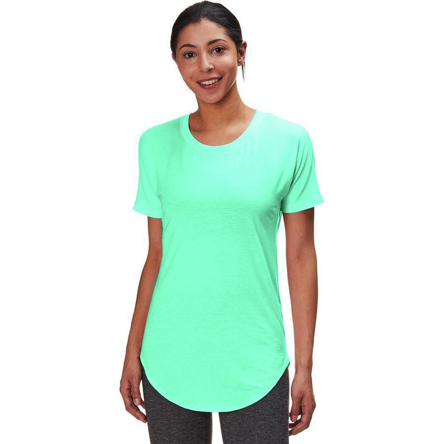 1cf902da93 The North Face - Workout Short-Sleeve Top - Women s - Kokomo Green