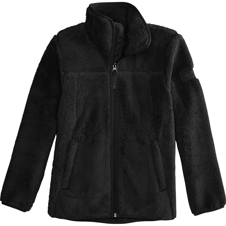 8224b127b2f9 The North Face - Campshire Full-Zip Fleece Jacket - Girls  - Tnf Black