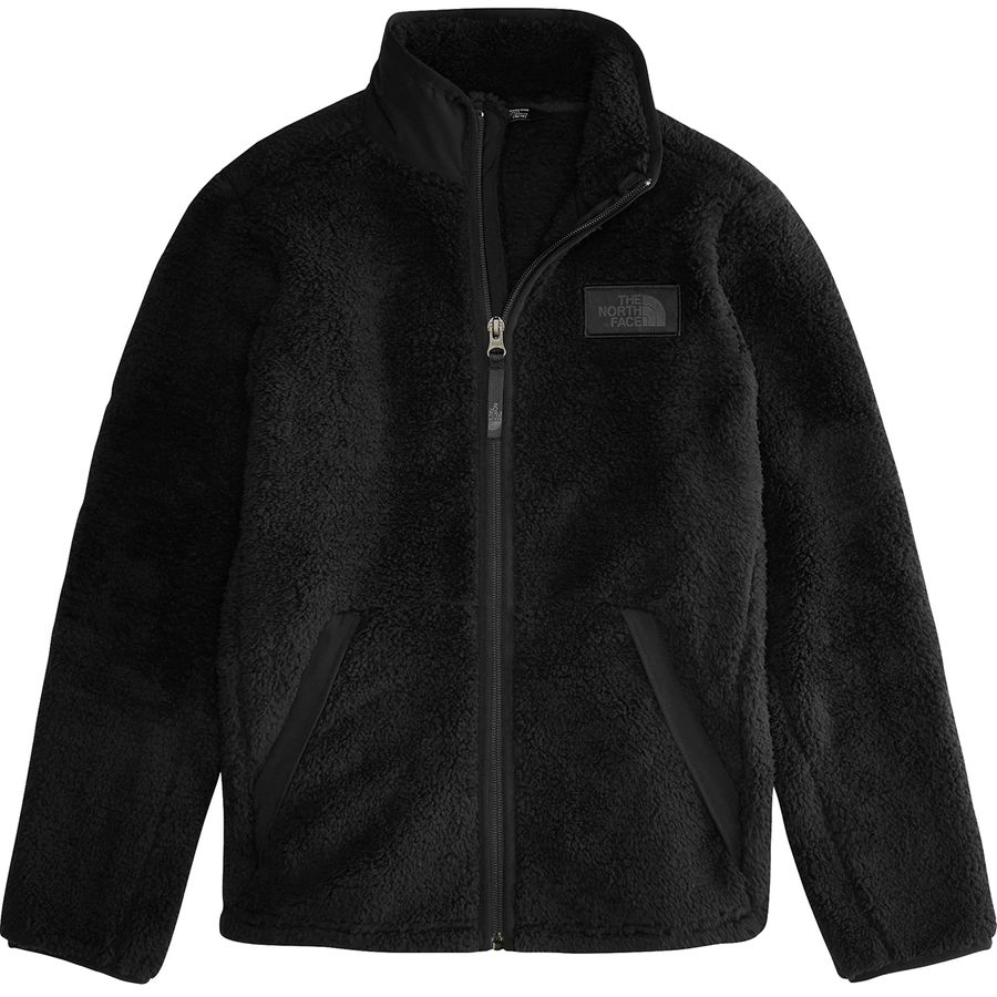 1be034d671fa The North Face - Campshire Full-Zip Fleece Jacket - Boys  - Tnf Black
