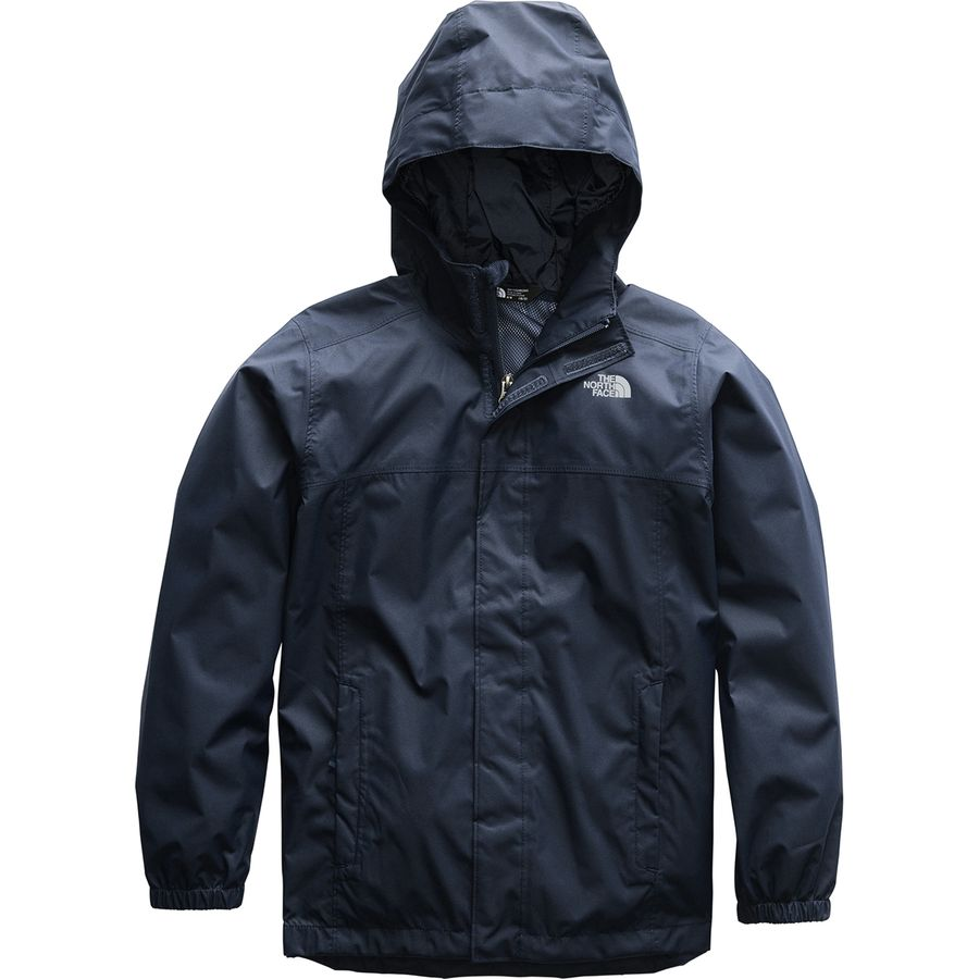 9c53eb66c6b9 The North Face - Resolve Reflective Hooded Jacket - Boys  - Cosmic Blue