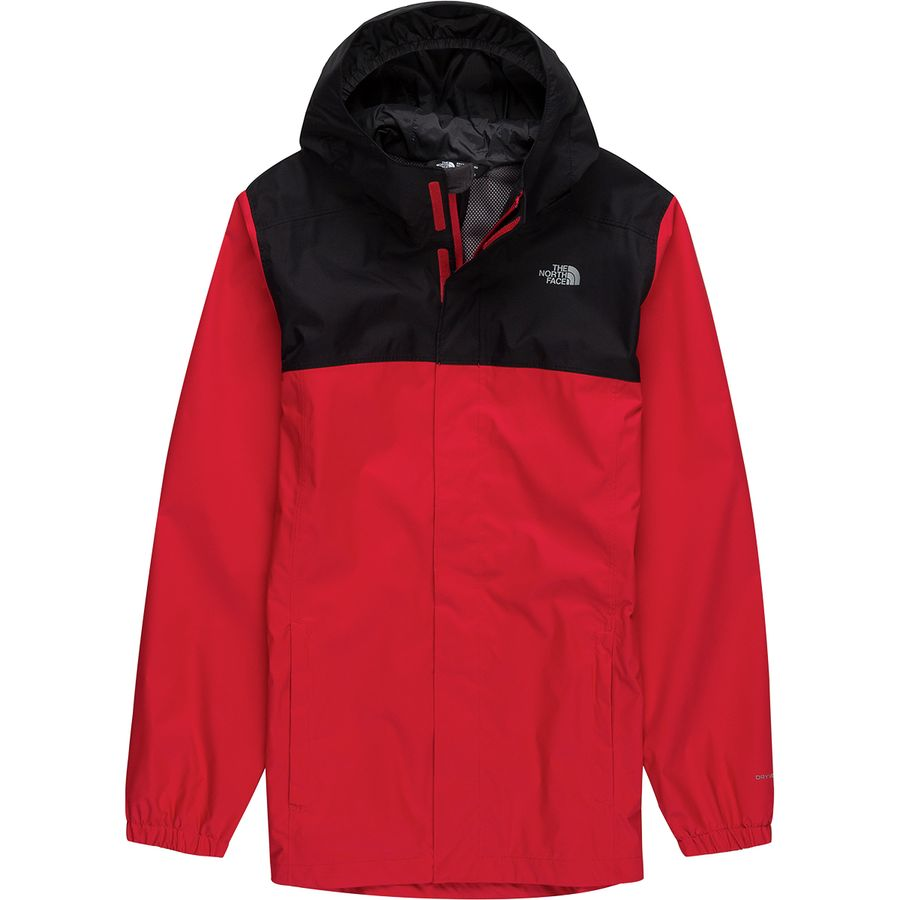 24b171ccab7d The North Face - Resolve Reflective Hooded Jacket - Boys  - Tnf Red