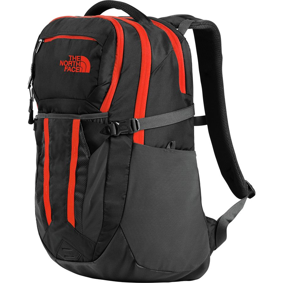 b80372f279 The North Face - Recon 30L Backpack - Asphalt Grey Fiery Red