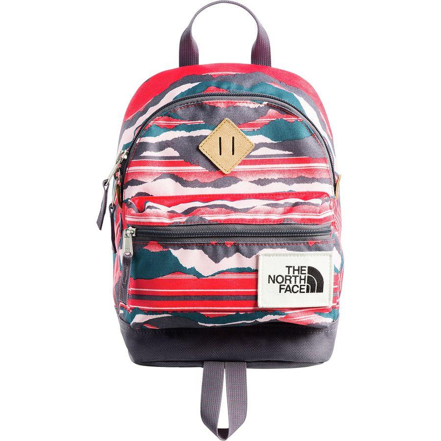 reputable site afc89 32d88 The North Face - Mini Mini Berkeley 9L Backpack - Kids  - Juicy Red  Landscape