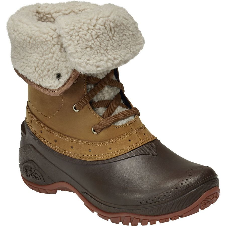The North Face - Shellista Roll-Down Winter Boot - Women s - Golden Brown  3ce16981f593