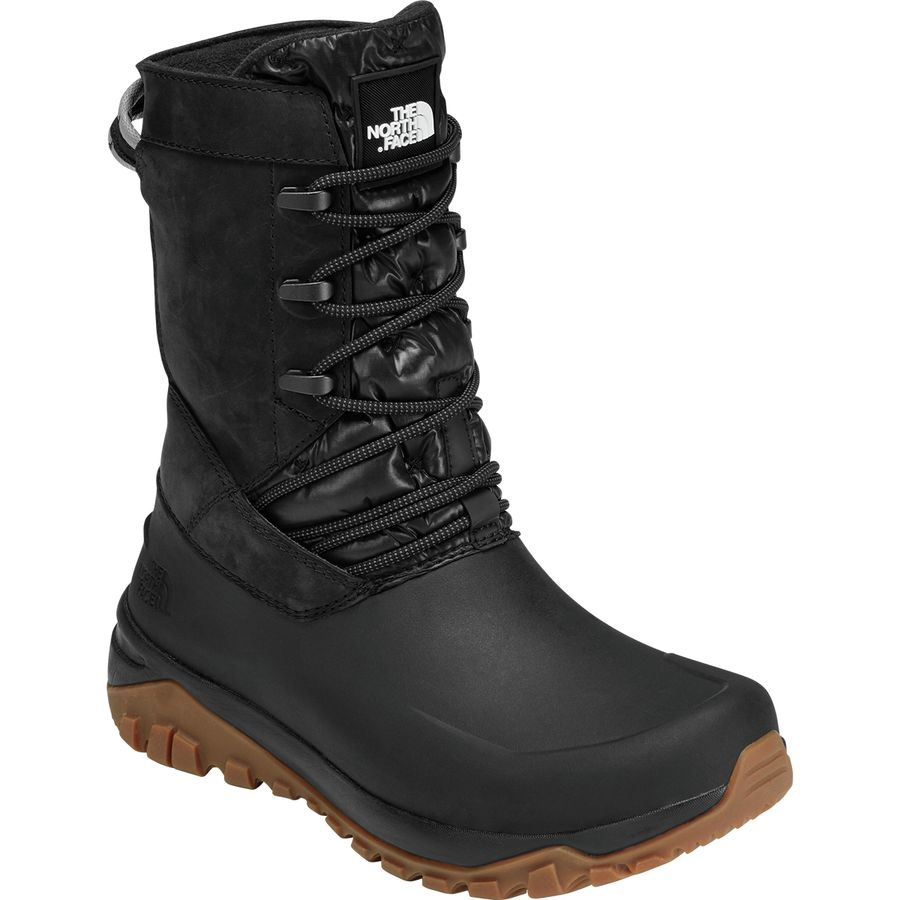 The North Face - Yukiona Mid Winter Boot - Women s - Tnf Black Tnf Black 23b85e1eb490