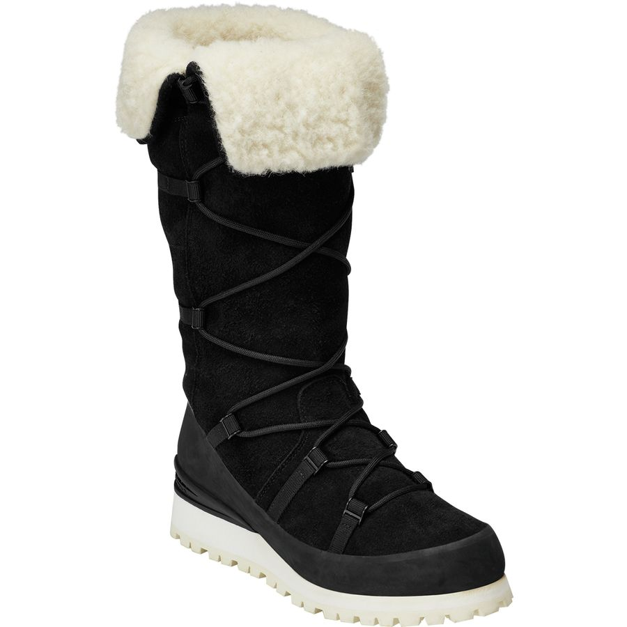 The North Face - Cryos Tall Wedge WP Winter Boot - Women s - Tnf Black  c863fa4a3fc3