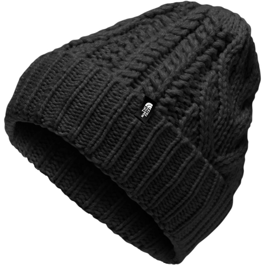 The North Face - Cable Minna Beanie - Girls  - Tnf Black 95e2485f122