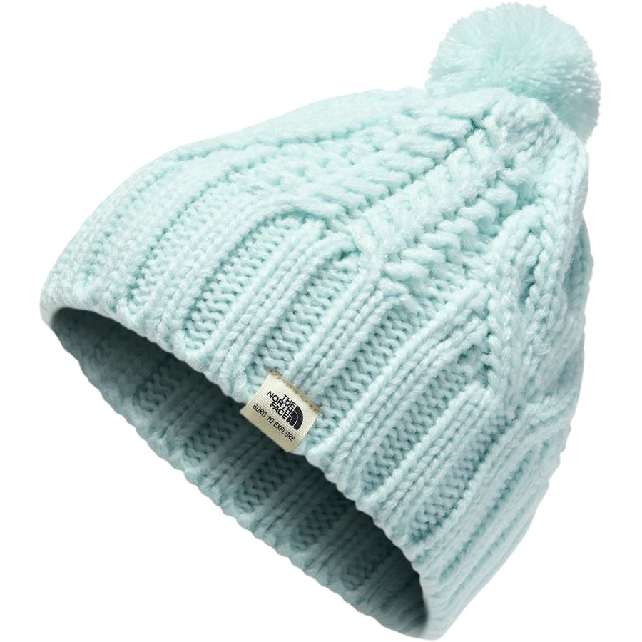 The North Face - Cable Minna Beanie - Infants  - Origin Blue dd6a8170ae7