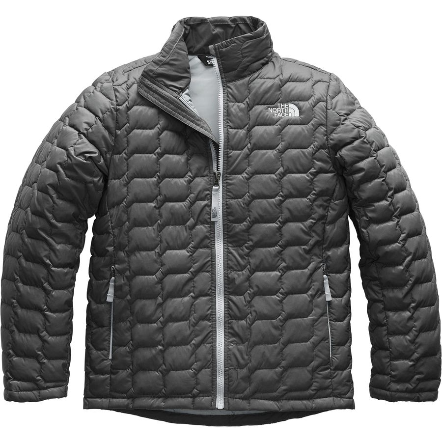 c5bea31bfc63 The North Face - ThermoBall Insulated Full-Zip Jacket - Boys  - Graphite  Grey
