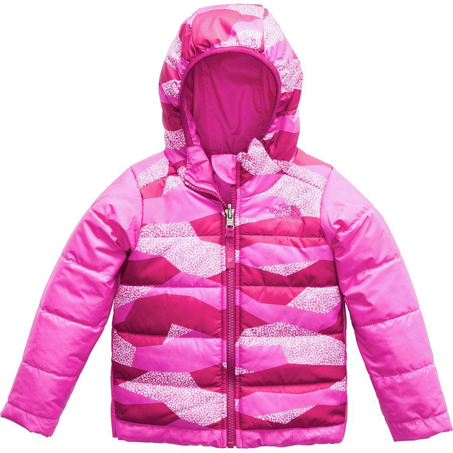 The North Face - Perrito Reversible Jacket - Toddler Girls  - Azalea Pink 72bf85513