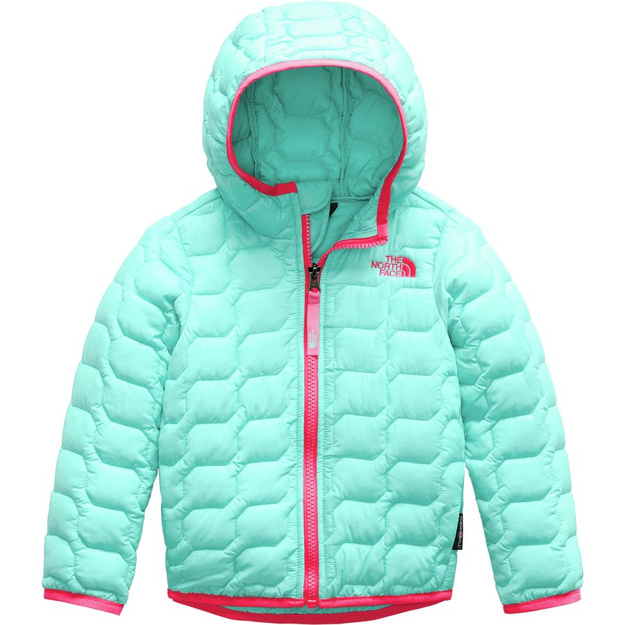 d2abbba88bc6 The North Face - ThermoBall Hooded Insulated Jacket - Toddler Girls  - Mint  Blue